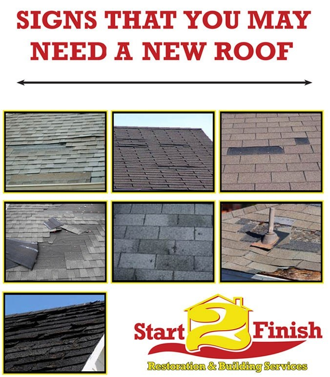 Signs that you may need a new roof